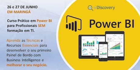 Curso Prático em Power BI para Profissionais SEM formação em TI - Maringá ingressos