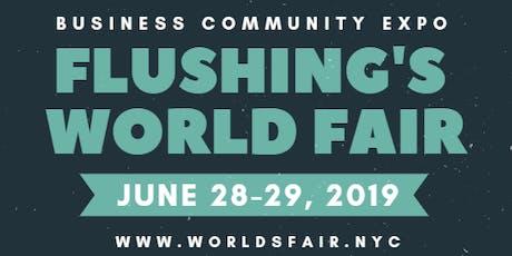 Flushing's World Fair tickets