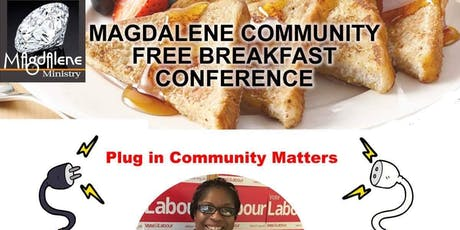 Free community breakfast conference  tickets