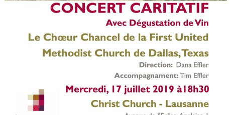 Concert of the Dallas First United Methodist Church Chancel Choir billets