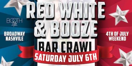 Red White & Booze Bar Crawl tickets