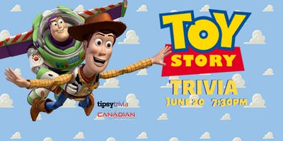Toy Story Trivia - June 20, 7:30pm - Canadian Brewhouse Winnipeg