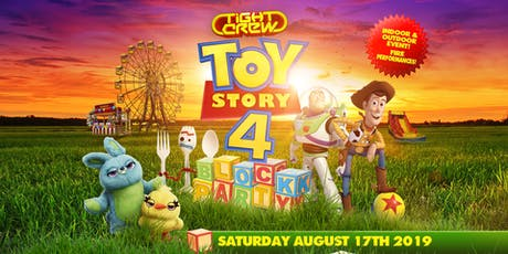 Toy Story 4 Block Party tickets