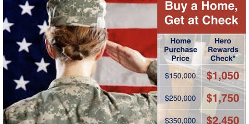 Cash for Military Home Buyers