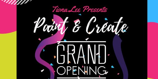 Paint and Create Grand Opening