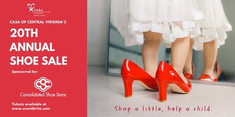 CASA Shoe Sale 2019 tickets
