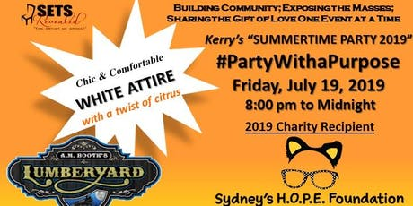 Kerry's SummerTime Party 2019 - Sydney's HOPE Foundation tickets
