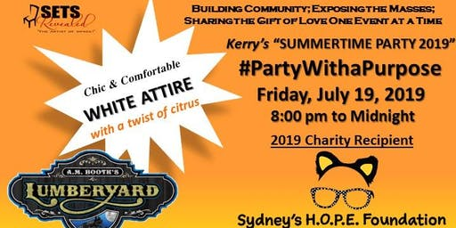 Kerry's SummerTime Party 2019 - Sydney's HOPE Foundation