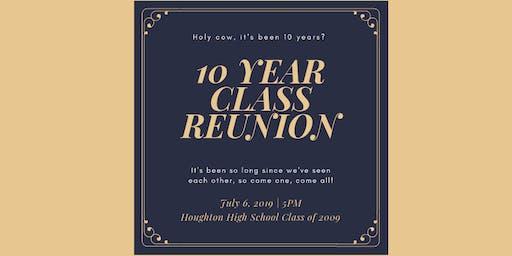 Houghton High School Class of 2009 - 10 Year Reunion