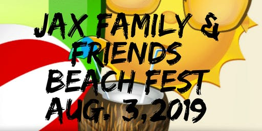 Jax. Family & Friends Beach Fest & Kids Expo