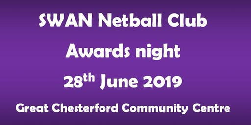 SWAN NETBALL CLUB AWARDS