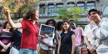 Free Walking Tour of the Quartier des Spectacles  billets