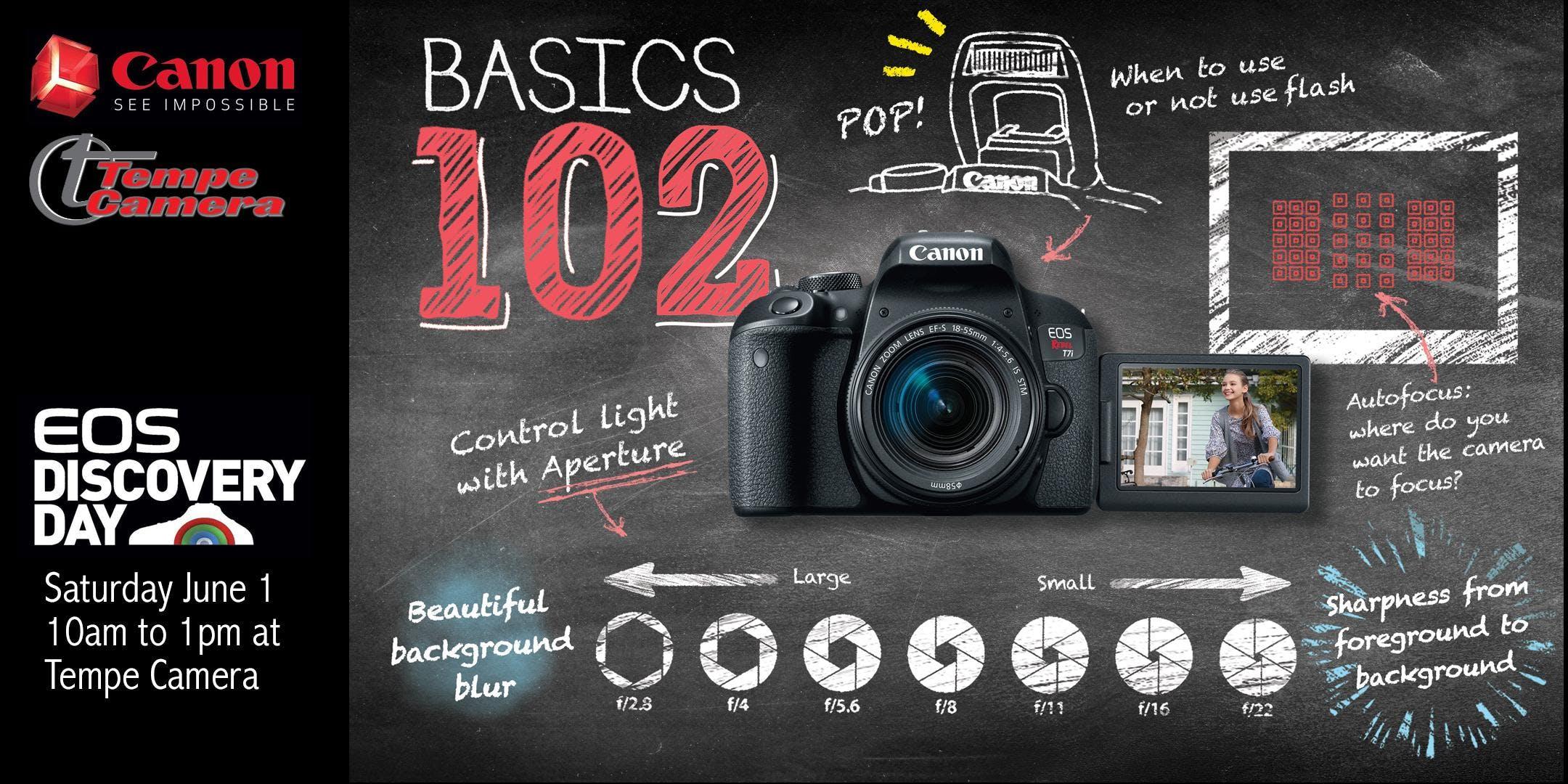 2019 Canon EOS Discovery Day: Basics 102
