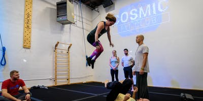 Acroyoga Pops and Whips- intermediate level L-basing class