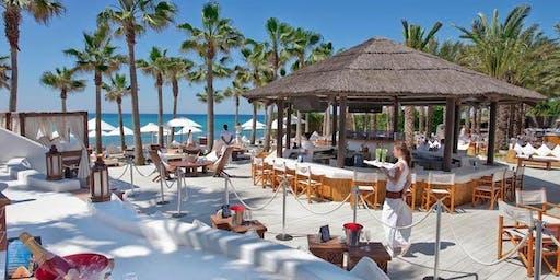 Beach Queens Who Conquer Beach Party! Nikki Beach, Ocean Front Luxury Party
