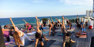 Summer Sunset Rooftop Yoga Sessions