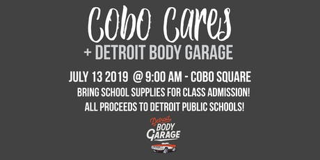 Cobo Cares + Detroit Body Garage Workout tickets