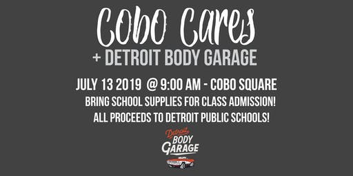 Cobo Cares + Detroit Body Garage Workout