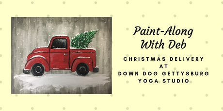 Christmas Delivery Truck Paint-Along at Down Dog Gettysburg tickets