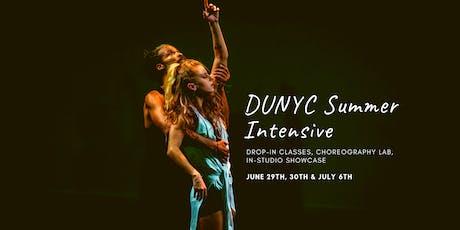 DUNYC Summer Intensive / Choreography Lab tickets