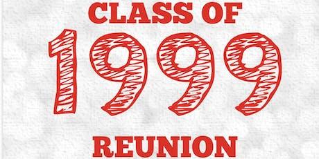 Class of 99 Reunion tickets