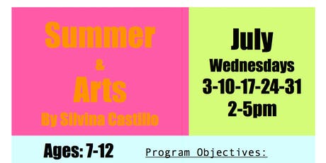 Summer & Arts, for kids 7-12 (Visitor) tickets