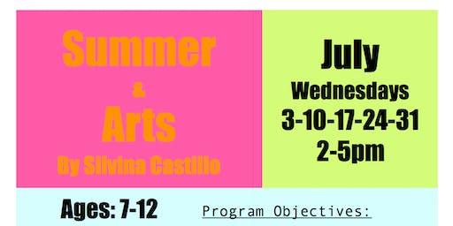 Summer & Arts, for kids 7-12 (Visitor)