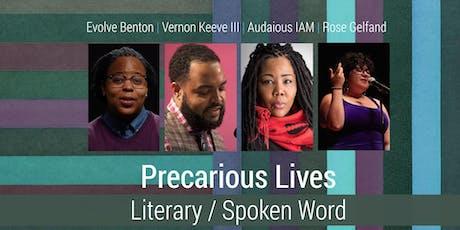 Precarious Lives: Literary Event tickets