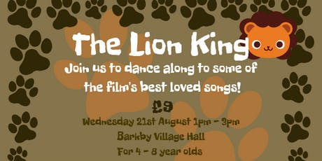 The Lion King Workshop tickets