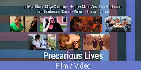 Precarious Lives: Experimental Film/Vido Event tickets