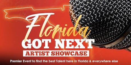 Florida Got Next Artist Showcase & Networking Event tickets