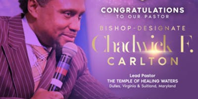 Celebration Banquet for Bishop Chadwick F. Carlton