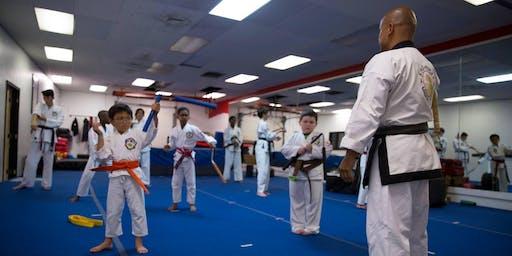 FREE Little Ninja Class 4-5 y/o
