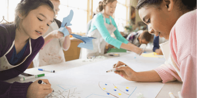Free Introductory Class — Kids Arts and Crafts (AGE: 4-5)