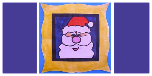 Parent & Child Create Night- How to Draw & Paint Santa (5-12 Years)