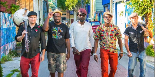 THE DOGON LIGHTS, THE RABBIT HOLE ORCHESTRA with OLOX