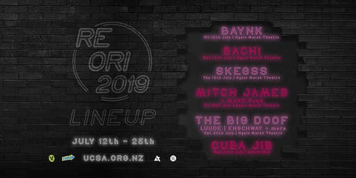 UCSA RE-ORI 2019 | Combo Tickets