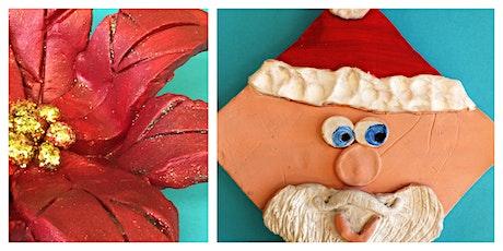 Christmas Clay Class Homeschool Workshop (5-12 Years) tickets