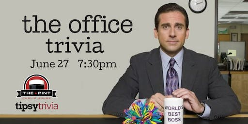 The Office Trivia - June 27, 7:30pm - The Pint Vancouver