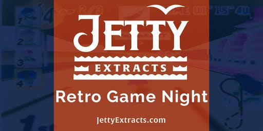Retro Game Night w/ Jetty Extracts @ Harvest on Geary (21+)