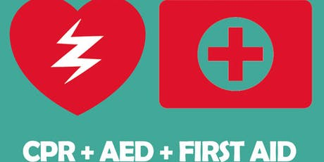 Heartsaver First Aid CPR AED Class tickets