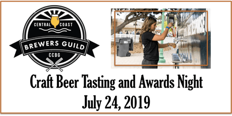 2019 Craft Beer Tasting and Awards Night tickets
