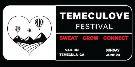Temeculove Festival tickets