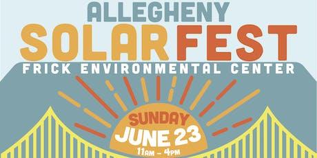 Allegheny SolarFest 2019 tickets