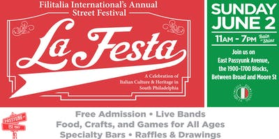 La Festa Street Festival on East Passyunk