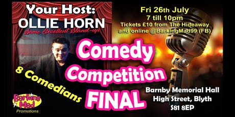 Barking Mad Comedy Competition - ** FINAL ** tickets