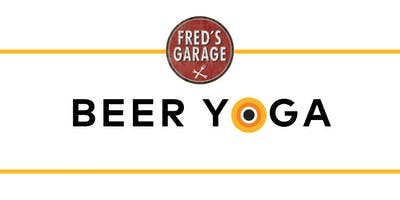 FREE Beer Yoga presented by CorePower Yoga and Fred's Garage