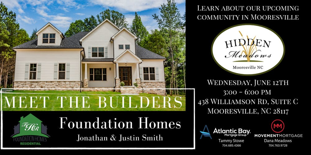Meet The Builders Foundation Homes