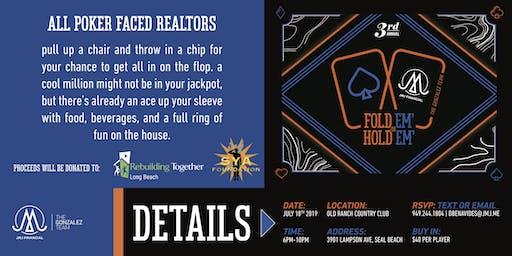 3rd Annual Fold 'em or Hold 'em Realtor Poker Tournament