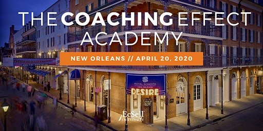 The Coaching Effect Academy by EcSell Institute, April 2020